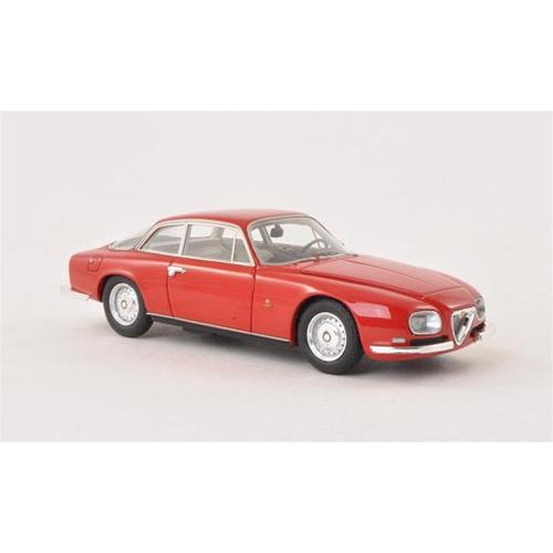 ALFA ROMEO 2600 SPRINT ZAGATO 1967 RED 1:43 Neo Scale